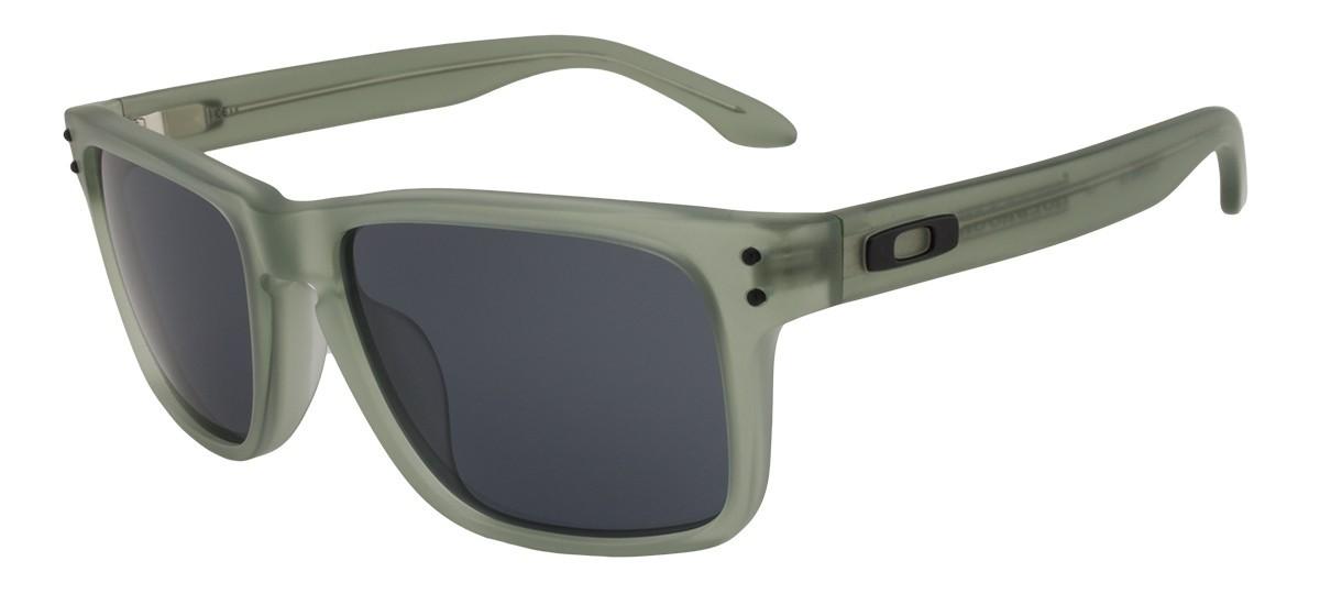 355a4cd608 Oakley Holbrook LX - Satin Olive   Grey - OO2048-05 Zonnebril Shop ...