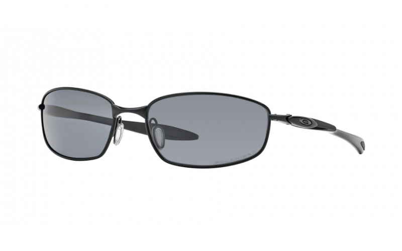 Oakley Blender Polished Black + Grey Polarized OO4059-03 Zonnebril