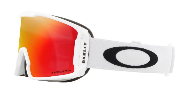 Line Miner XM Matte White / Prizm Snow Torch Iridium