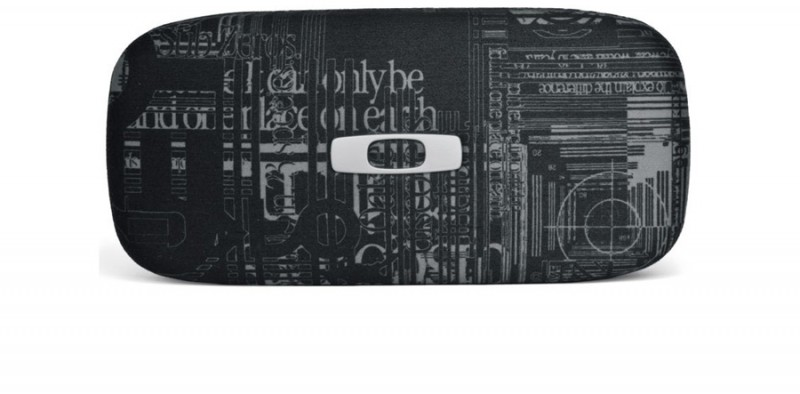 Oakley Sq O Hard Case Blk Headliner Graphics - Brillenkoker