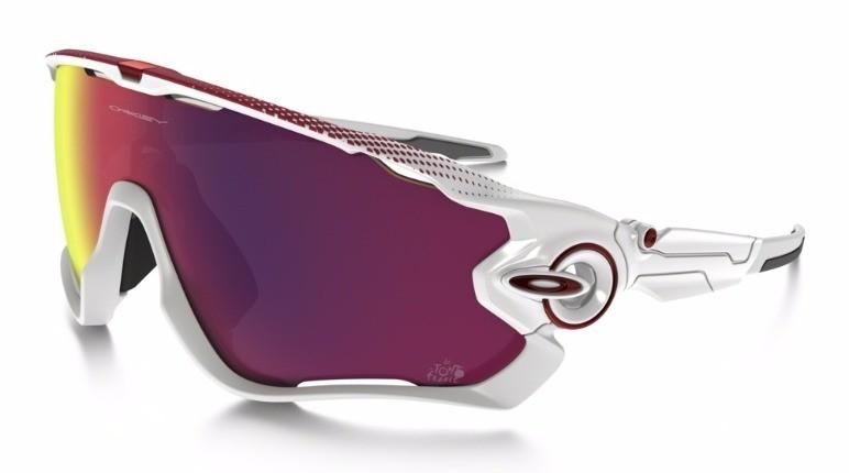 Oakley Tour de France Edition Jawbreaker - Polished White / Prizm Road - OO9290-18 Zonnebril