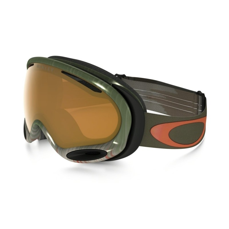 Oakley A Frame 2.0 Wet/Dry Olive/Orange / Persimmon - OO7044-43 Skibril