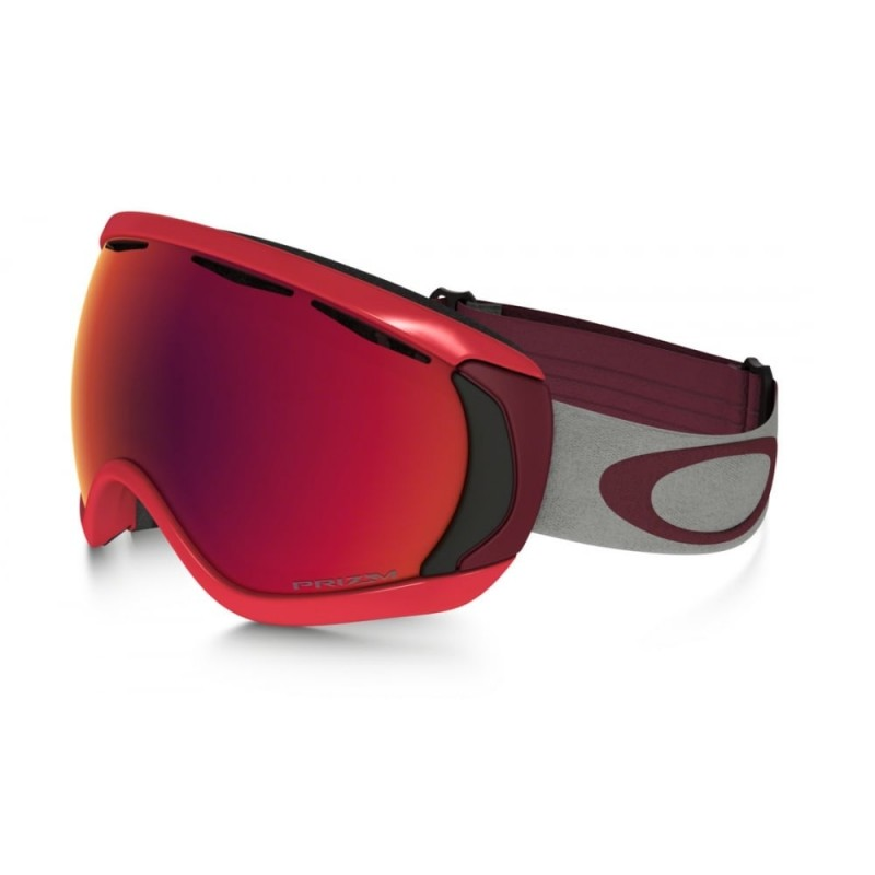 Oakley Canopy (Asian Fit) Red Oxide / Prizm Snow Torch Iridium - OO7081-07 Skibril