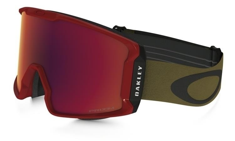 Oakley Line Miner - Red Burnished Iron / Prizm Snow Torch Iridium - OO7070-23 Skibril