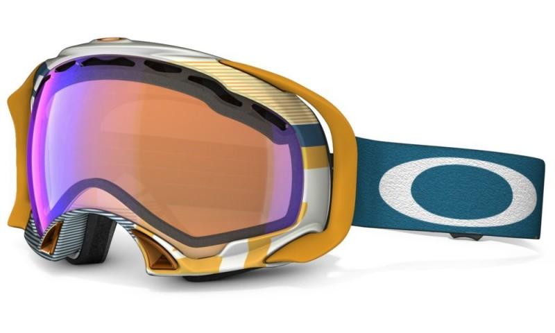 Oakley Splice - 1975 Blue Orange / Blue Iridium - 59-610 Skibril