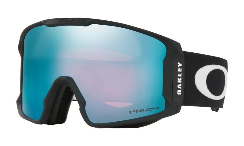 Line Miner XM Matte Black + Prizm Snow Sapphire Iridium OO7093-03