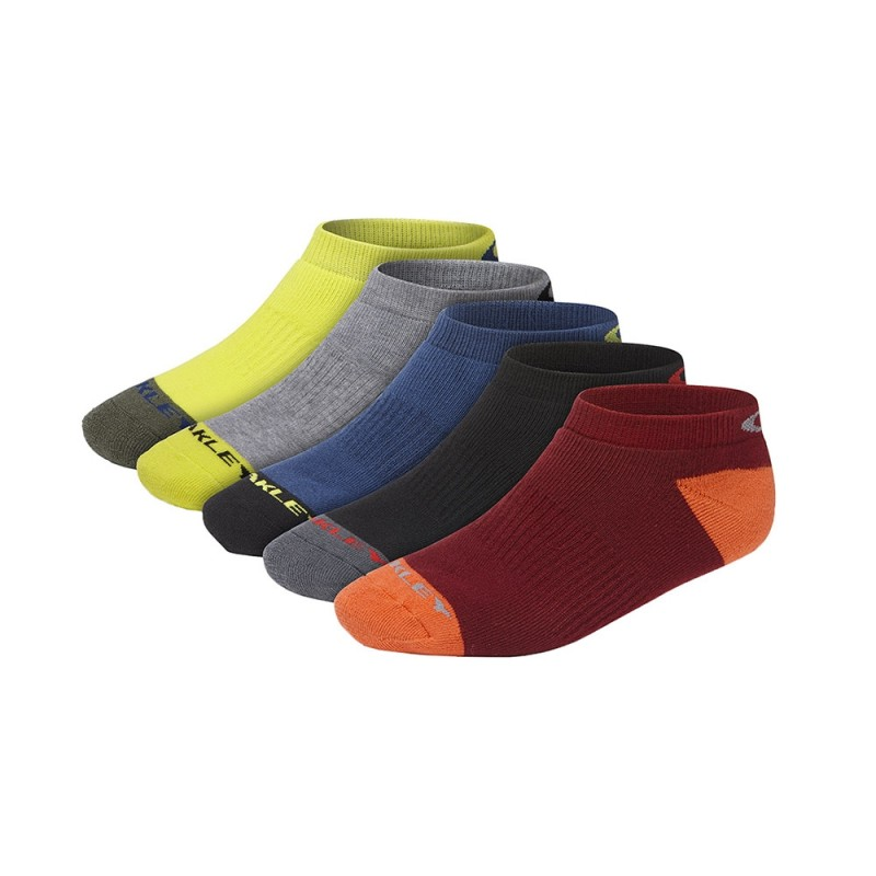 Oakley Performance Basic Low Cut Sock 5 Pack - Mixed Colours - 93233-999-L Sokken
