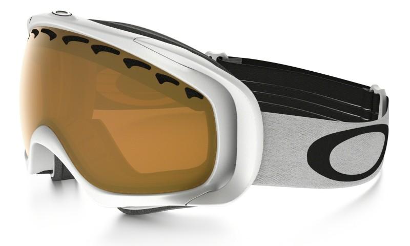 Oakley Crowbar - Matte White / Persimmon - Skibril