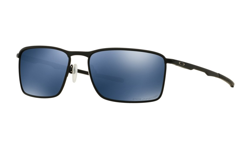 Oakley Conductor 6 - Matte Black / Ice Iridium Polarized - OO4106-03 Zonnebril