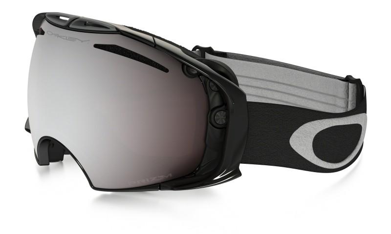 Oakley Airbrake - Jet Black / Prizm Snow Black Iridium & Prizm Rose - OO7037-32 Skibril