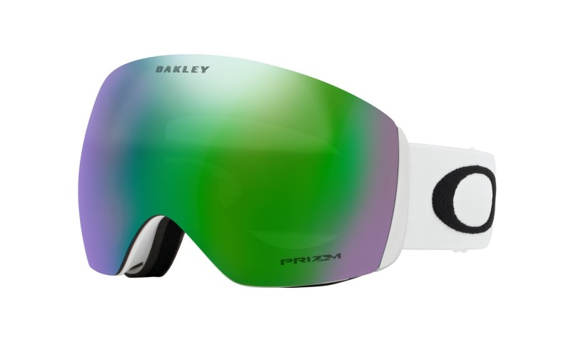 Oakley Flight Deck - Matte White / Prizm Snow Jade Iridium - OO7050-36 Skibril