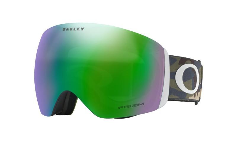 Oakley Flight Deck Army Camo Collection / Prizm Snow Jade Iridium OO7050-54 Skibril