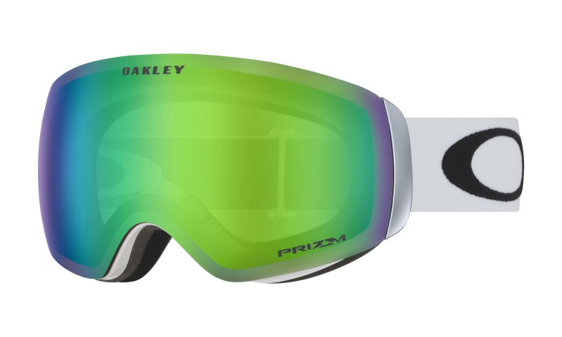 Oakley Flight Deck XM Matte White + Prizm Snow Jade Iridium OO7064-23