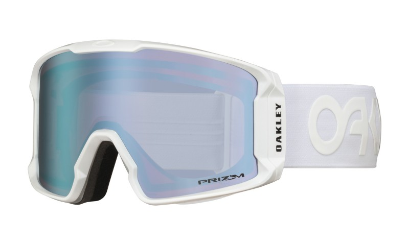Oakley Line Miner Factory Pilot Whiteout + Prizm Snow Sapphire Iridium OO7070-15