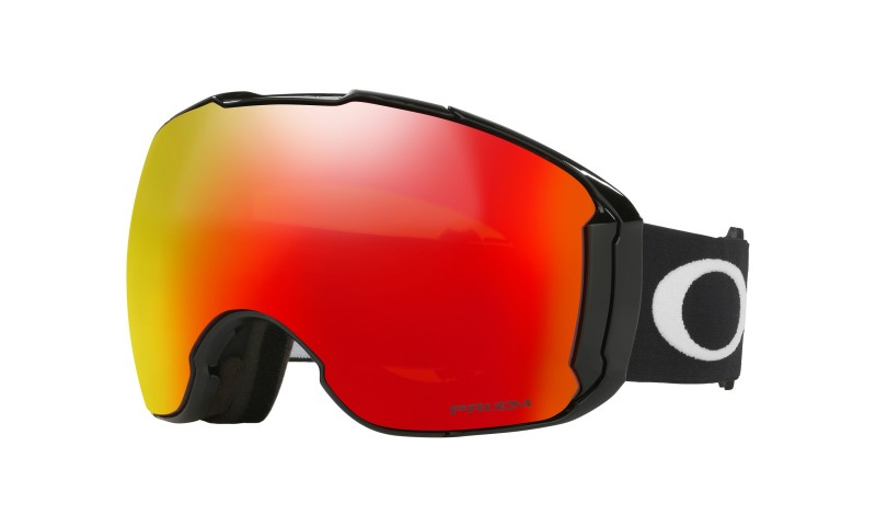 Oakley Airbrake XL - Jet Black / Prizm Snow Torch Iridium & Prizm Snow Rose - OO7071-02 Skibril