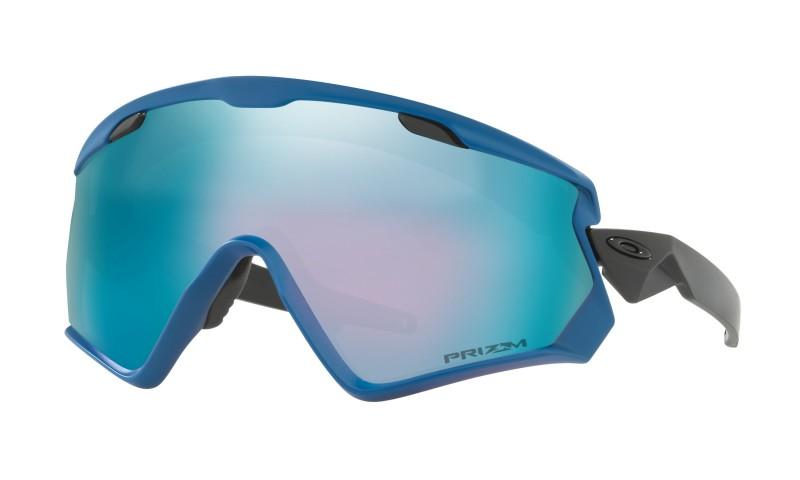 Oakley Wind Jacket 2.0 California Blue + Prizm Snow Sapphire Iridium OO7072-07