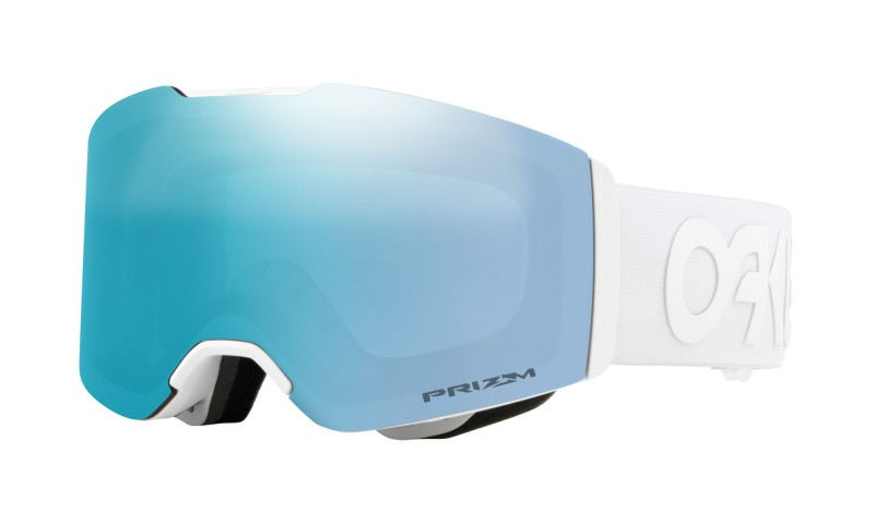 Oakley Fall Line Factory Pilot Whiteout / Prizm Snow Sapphire Iridium OO7085-14 Skibril