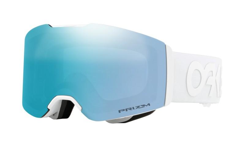 Oakley Fall Line Factory Pilot Whiteout / Prizm Snow Sapphire Iridium OO7085-14 Skibril