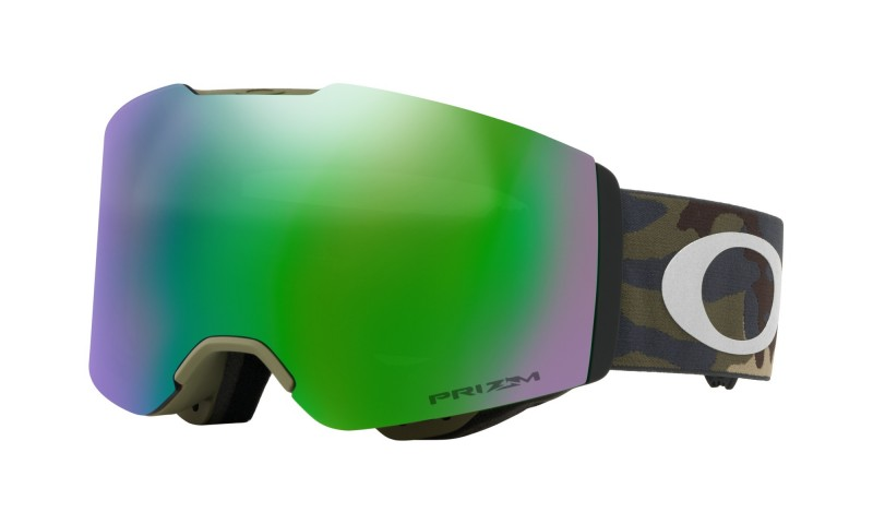 Oakley Fall Line Army Camo Collection / Prizm Snow Jade Iridium OO7085-20 Skibril