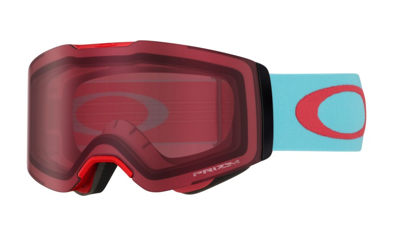Oakley Fall Line Carribean Sea Red + Prizm Snow Rose OO7085-26