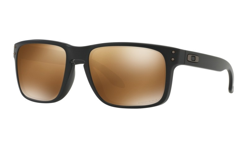Oakley Holbrook - Matte Black / Prizm Tungsten Polarized - OO9102-D755 Zonnebril