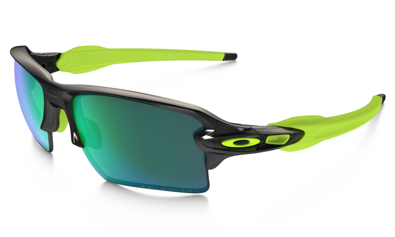 Oakley Flak 2.0 XL Black Ink / Jade Iridium Polarized