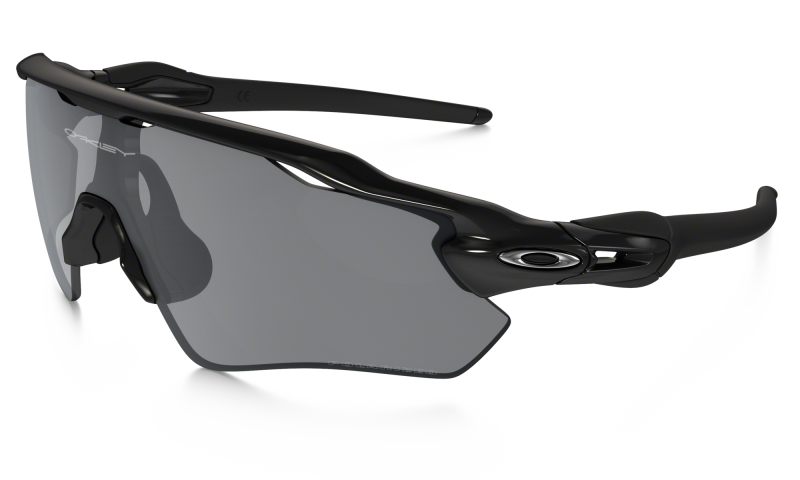 Oakley Radar EV Path Zonnebril - Polished Black / Black Iridium Polarized