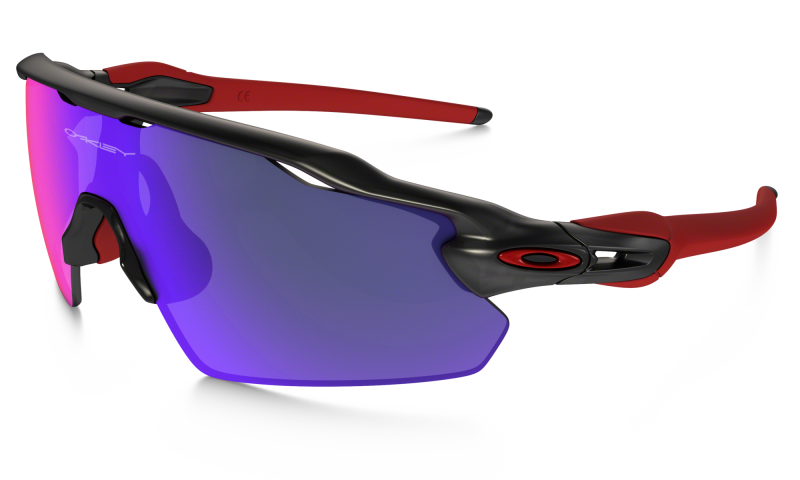 Oakley Radar EV Pitch Zonnebril - Matte Black Ink / Positive Red Iridium