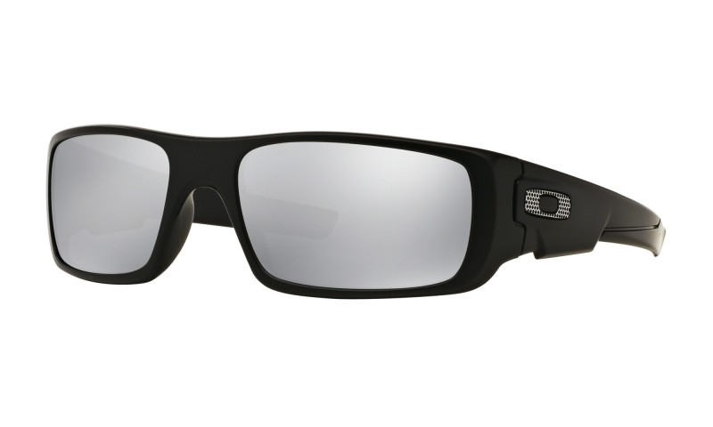 Oakley Crankshaft - Machinist Matte Black / Chrome Iridium - OO9239-20 Zonnebril