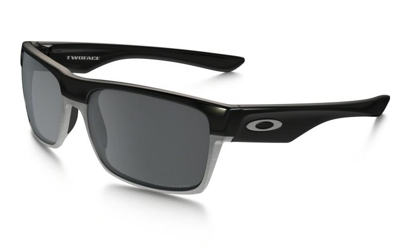 Oakley TwoFace (Asian Fit) - Polished Black / Black Iridium Polarized - OO9256-06 Zonnebril