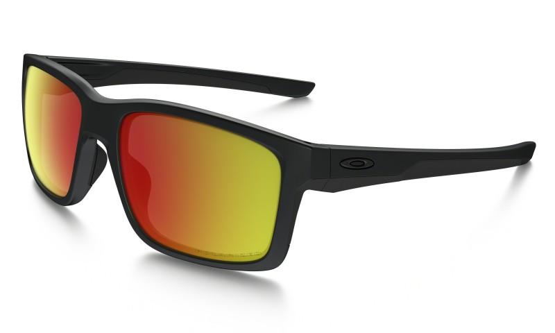 Oakley Mainlink - Matte Black / Ruby Iridium Polarized - OO9264-07 Zonnebril