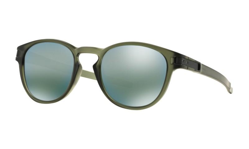 Oakley Latch - Matte Olive Ink / Emerald Iridium - OO9265-05 Zonnebril