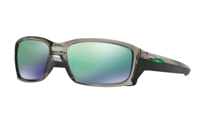 Oakley Straightlink - Grey Ink / Jade Iridium - OO9331-03 Zonnebril