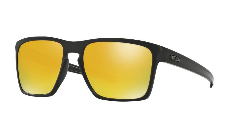 Oakley Sliver XL (Asian Fit) Matte Black / 24K Iridium - OO9346-04 Zonnebril