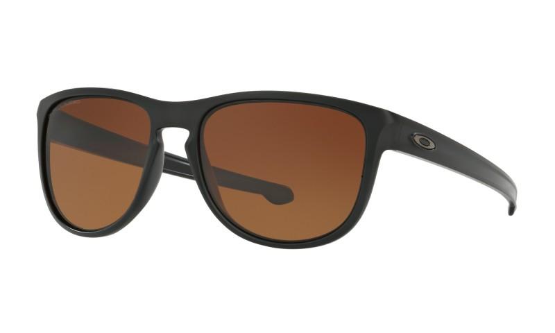 Oakley Sliver R - Matte Black / Brown Gradient Polarized - OO9342-06 Zonnebril