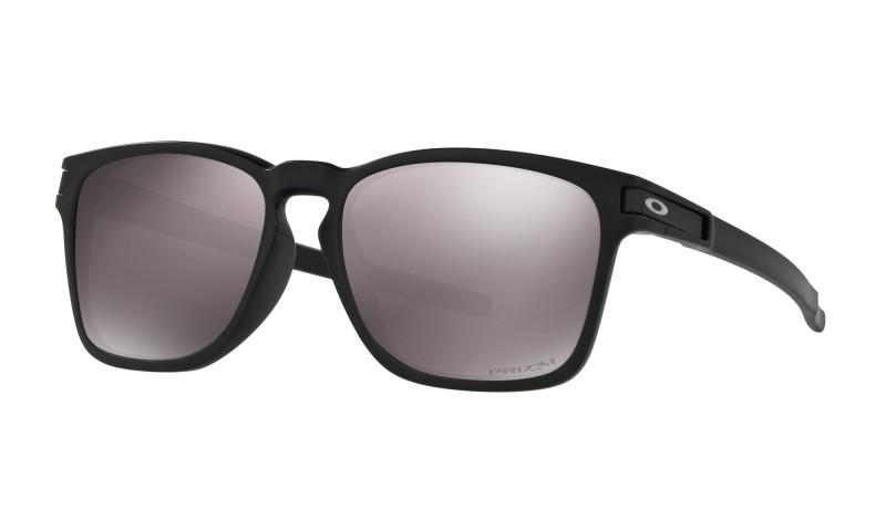 Oakley Latch Sq (Asian Fit) Matte Black / Prizm Daily Polarized - OO9358-06 Zonnebril