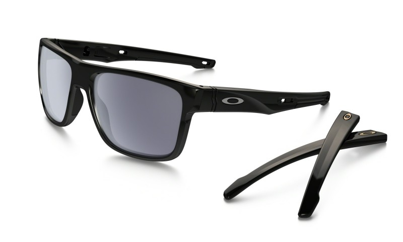 Oakley Crossrange XL - Polished Black / Grey - OO9361-0157 Zonnebril