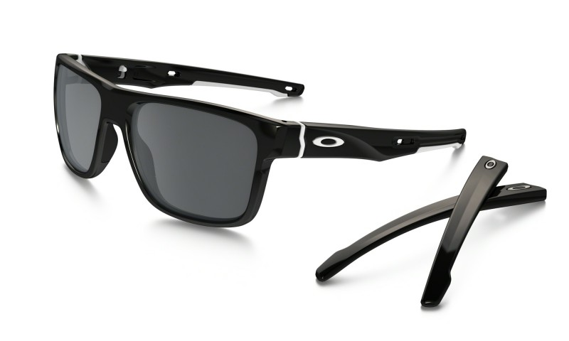Oakley Crossrange - Polished Black / Black Iridium - OO9361-02 Zonnebril