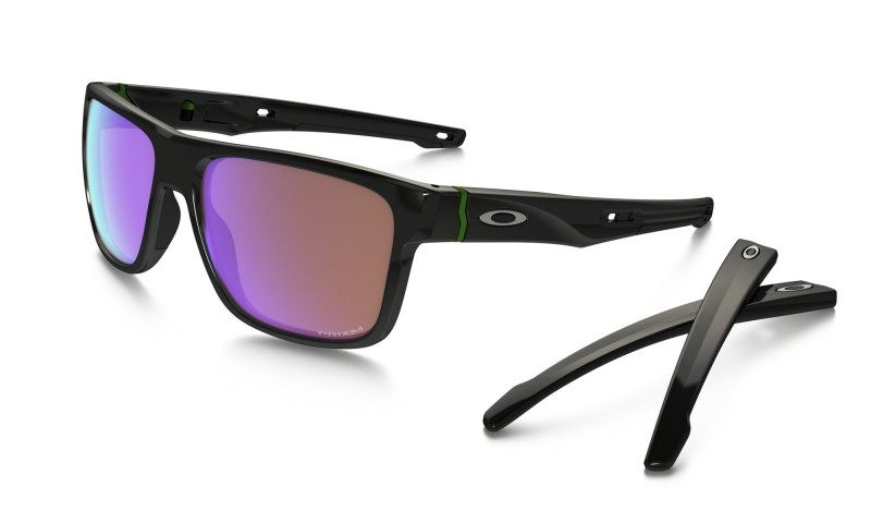 Oakley Crossrange - Polished Black / Prizm Golf - OO9361-0457 Zonnebril