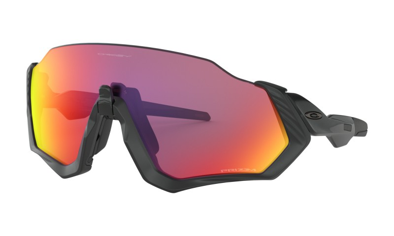Oakley Flight Jacket Matte Black/Polished Black / Prizm Road - OO9401-0137