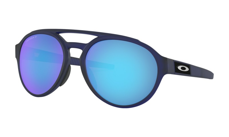Oakley Forager Matte Translucent Blue / Prizm Sapphire Polarized - OO9421-0658