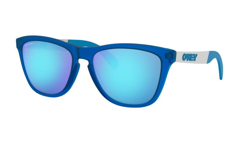 Oakley Frogskins Mix Matte Transluscent Sapphire / Prizm Sapphire Iridium - OO9428-0355