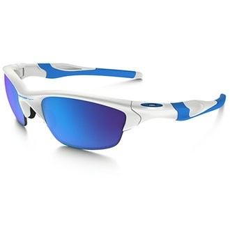 Oakley Half Jacket 2.0 - Polished White / Sapphire Iridium Polarized - OO9153-23 Zonnebril