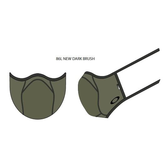 Oakley Masker Fitted Light Dark Brush S/M