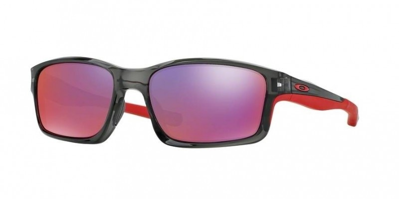 Oakley Chainlink (Asian Fit) Grey Smoke / OO Red Iridium Polarized - OO9252-08 Zonnebril