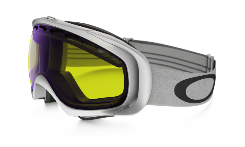 Oakley Crowbar - Matte White / High Intensity Yellow - 02-020 Skibril
