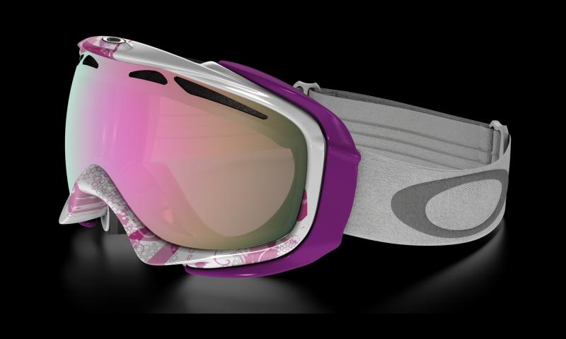Oakley Elevate - Breast Cancer Edition: Black Iridium - Skibril