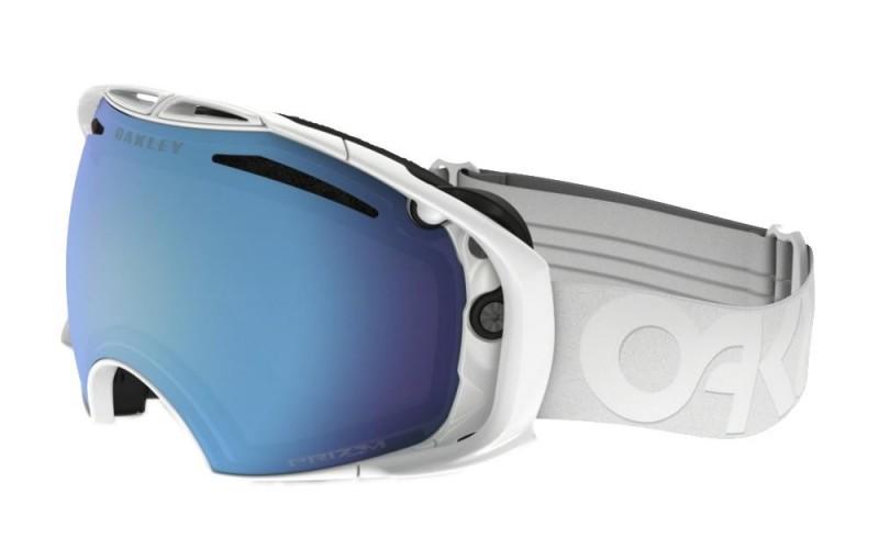 Oakley Airbrake Factory Pilot Whiteout - Prizm Snow Sapphire Iridium & VR50 Pink Iridium - OO7037-46 Skibril