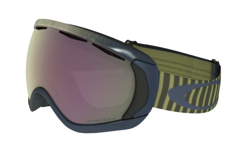 Oakley Canopy - Obsessive Lines Citrus / Prizm Snow HI Pink Iridium - OO7047-63 Skibril