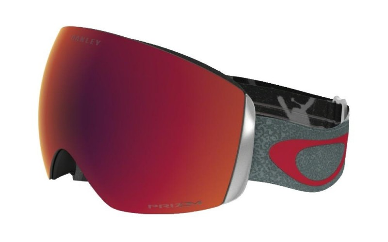 Oakley Flight Deck Henrik Harlaut Signature Mad X / Prizm Snow Torch Iridium OO7050-47 Skibril